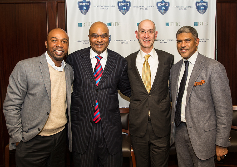 Hooptee Hardwood Legends Dinner 2014